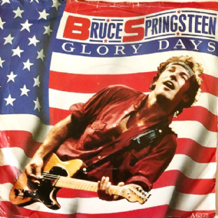 "Bruce Springsteen ‎- Glory Days (7"") (G++/G-)"